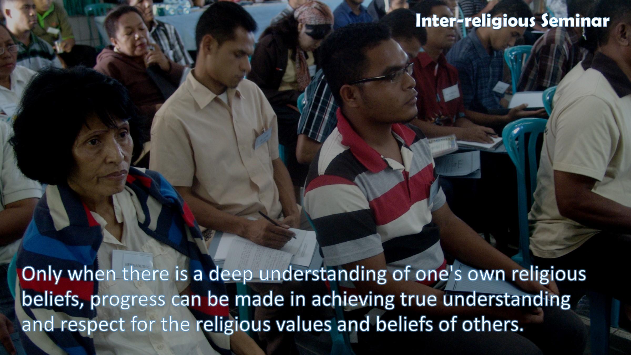 Inter-religious Seminar