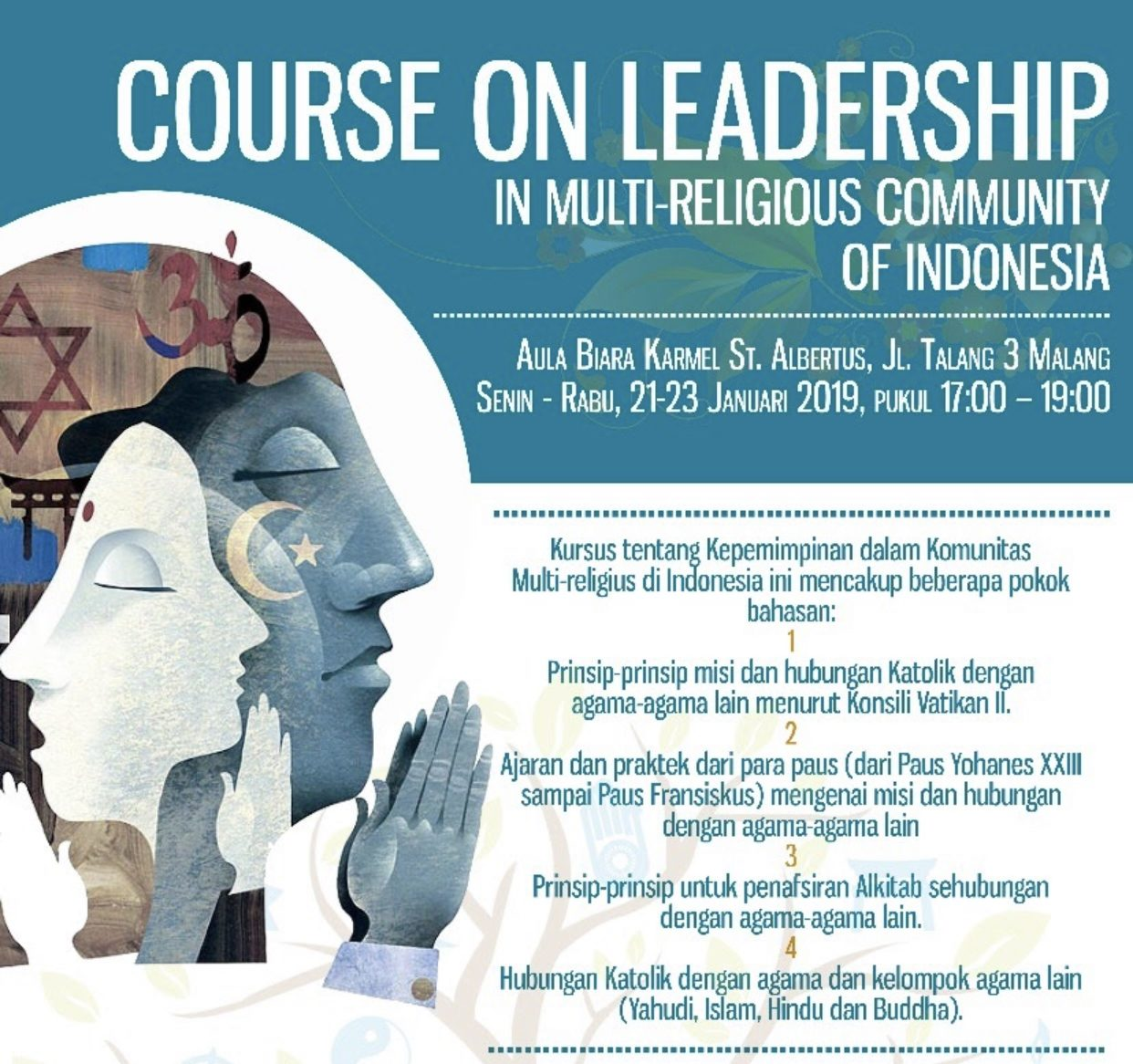 Course on Inter-religious Community of Indonesia
