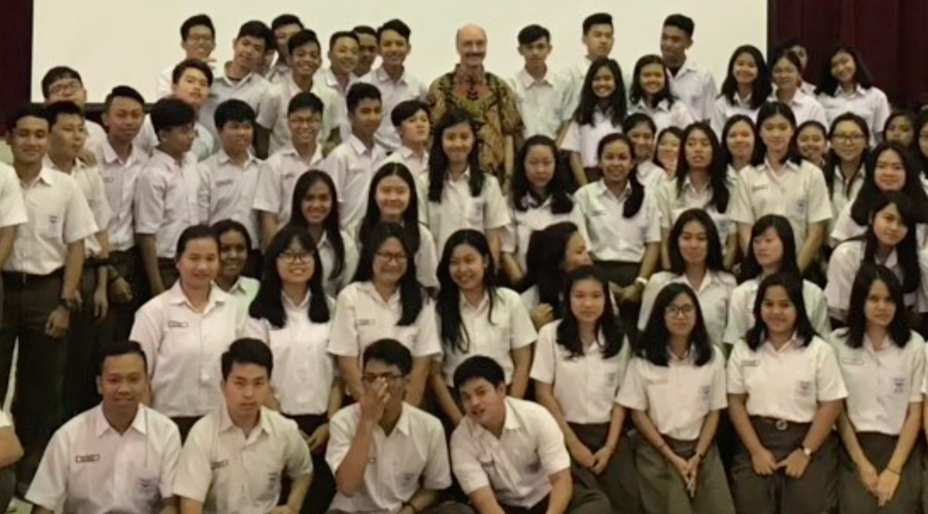 Inter-religious Talk for the Students of St. Albert High School