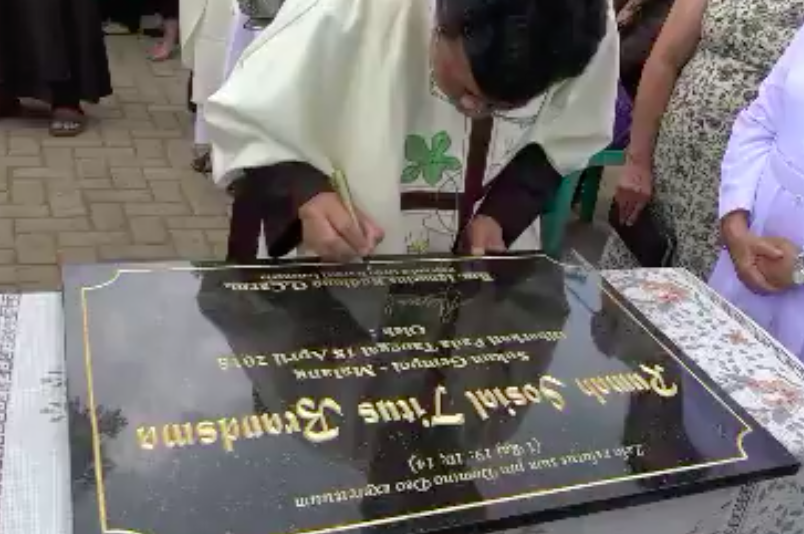 Blessing Ceremony of the House of Mercy in Sukun Gempol